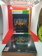 Xbox 360 Doom 3 BFG Edition PAL Complete With Manual Good Condition Disc
