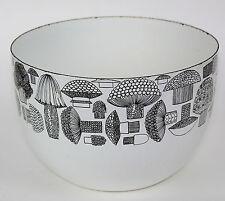 """VTG FINEL  FINLAND 8 1/4"""" Bowl White Enamel KAJ FRANCK Mushroom Design"""