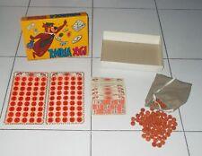 Metallo BINGO TOMBOLA party gioco società Gioco BINGO Tombola frantoio schede carte