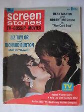 Screen Stories*Liz Taylor & Richard Burton*Dean Martin*Katherine Hepburn*Aug '68