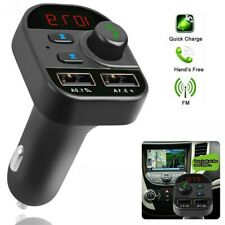 1* Bluetooth Car FM Transmitter MP3 Player Hands free Radio Adapter USB Charger