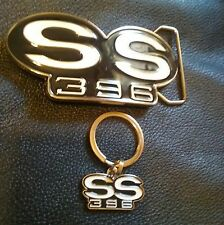 65 66 67 68 69 70 71 72 chevelle nova camaro el camino SS belt buckle/keychain