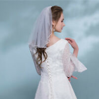 Simple Wedding Veil Bridal Tulle Veils Flower Girl Wedding Party Photography