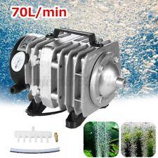 45W Electromagnetic Air Pump Aerator Oxygen Aquarium Fish Koi Pond
