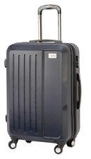 Maletas y equipaje azul rígido