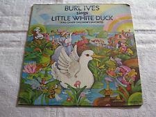 Burl Ives Sings Little White Duck And Other Children's Favorites - LP