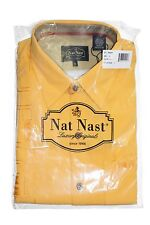NAT NAST Embroidered Short Sleeve Silk Shirt in Ray Sz.Small NWT