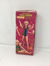 Vintage Barbie Mod Dramatic New Living Skipper Doll #1117 Mib W Stand Wrist Tag