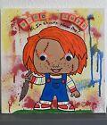 12x12 Black Light 3D Halloween Child's Play Chucky Wall Art