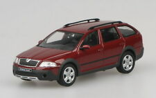 Skoda Octavia Combi Scout - Red Flamenco  Model Car By Abrex 1:43 SCALE  RefSK8