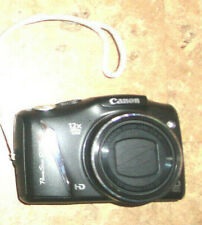 Canon PowerShot SX130 IS 12.1MP Digital Camera Black with Case PC 1562