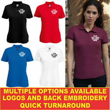 Personalised Embroidered Tailored Fit Unisex Casual Workwear Formal Top SS403