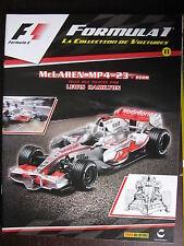 FASCICULE 11 FORMULA 1  McLAREN MP 4-23  2008  LEWIS HAMILTON