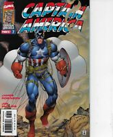 CAPTAIN AMERICA #7 MARVEL COMICS 1997 BAGGED AND BOARDED