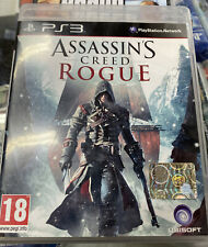 ASSASIN'S CREED ROGUE PS3 VIDEOGIOCO SONY PLAYSTATION 3 ITALIANO PAL Ottime Cond