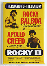 Rocky 2 FRIDGE MAGNET (2 x 3 inches) movie poster sylvester stallone II boxing