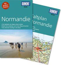 Normandie Frankreich  UNGELESEN 2015 Reiseführ mit Karte  Dumont direkt Rouen