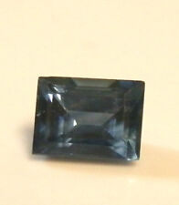 Natural Australian earth-mined blue baguette sapphire..0.31 carat