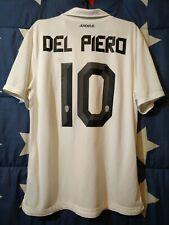 SIZE L JUVENTUS ITALY 2010-2012 AWAY FOOTBALL SHIRT JERSEY DEL PIERO #10