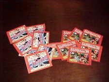 1983 Topps Baseball Sticker Pack & 1988  Panini Baseball Sticker Pack Lot (14)
