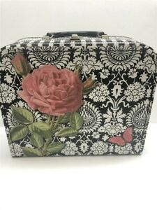 Punch Studio Decorative Suitcase 54193 Damask, Discontinued!