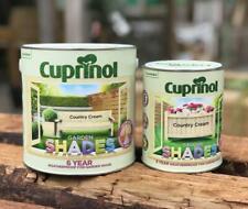 Cuprinol Garden Shades Paint - Furniture Sheds Fences - All Colours Free P&P