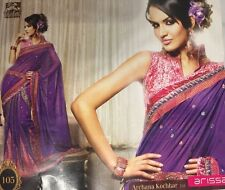 Impresionante diseñador Arissa Sari Sari-Tela/mercería RRP £ 275