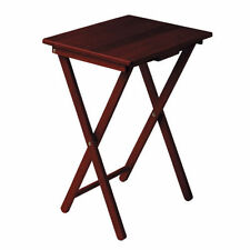 Solid Wood Folding Side & End Tables