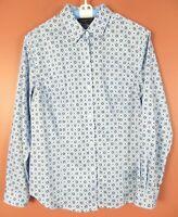TB08957- JONES NEW YORK Women's NON IRON Cotton Long Sleeve Blouse Multicolor L