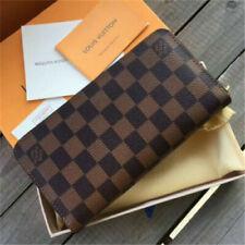 Authentic **Louis- Vuitton** Damier Ebene Zippy Wallet