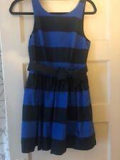 Abercrombie & Fitch Morgan Navy/Blue Striped Cotton Dress Size 4