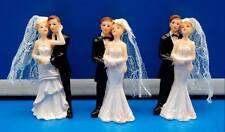 Tortendeko Hochzeitspaar Hochzeitspuppen Dekopuppen Hochzeitsdeko 7,5 cm