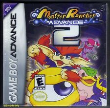 GBA Monster Rancher Advance 2 (2002) Brand New & Nintendo Factory Sealed