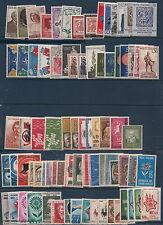ITALIA TRA GLI ANNI 1950 e 1960 IN 57 SERIE COMPLETE NUOVE ** NON LINGUELLATE