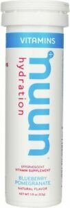 Vitamins Nuun by Nuun, 12 tablets Blueberry Pomegranate 4 pack