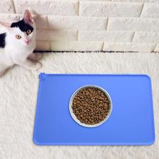 Dog Food Mat Silicone Pet Feeding Mat Non Slip Waterproof Cat Bowls Tray