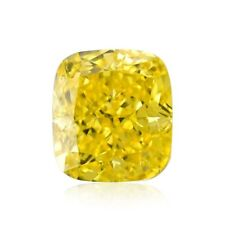 Yellow Diamond  - 1.00ct Natural Loose Fancy Vivid Yellow Canary GIA VVS2
