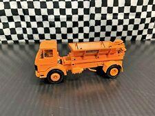 Conrad Mercedes-Benz Salt Spreader Truck - Orange - 1:50 Diecast Boxed