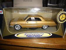 Chevrolet impala SS409 1963 modèle gold diecast 1/24 coffret non ouvert