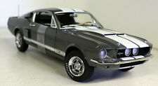 Ertl 1/18 Scale - 1060 1967 Shelby GT-350 Flat Grey Diecast Model Car