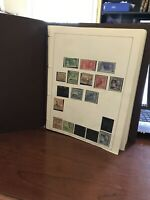 malta stamps collections In Binder