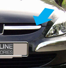CHROME FRONT GRILLE ACCENTS GRILL TRIM SET COVER HIGHLIGHTS FOR PEUGEOT 307
