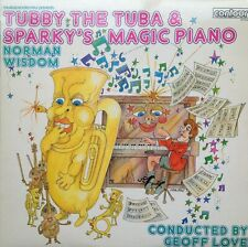Tubby The Tuba & Sparky's Magic Piano - Norman Wisdom - Trevor Bannister LP