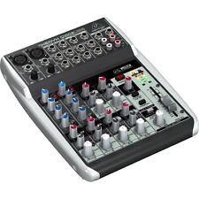 Behringer Xenyx Q1002USB 10-Input 2-Bus Mixer USB Audio Interface w/ Mic Preamps