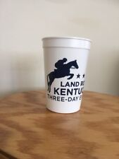 Land Rover Kentucky Three Day Event Commemorative Plastic Cup Horses Rolex