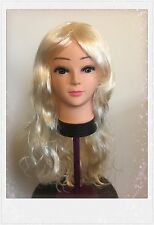 Ladies Sexy Long Curly Full Wig Cosplay Costume Fancy Dress Wig Party Synthetic