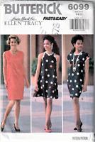 Butterick 6099 Linda Attard for Ellen Tracy Misses Dress Pattern  Sizes 6-10