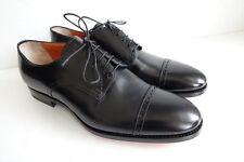 SANTONI Schuhe Herrenschuhe Businessschuhe - GR. 9,5 (43,5) - NEU/ORIGINAL