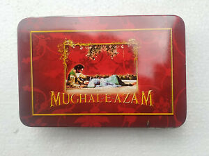 MUGHAL-E-AZAM BOLLYWOOD CLASSIC MOVIE BOX DILIP KUMAR MADHUBALA PRTHWIRAJ KAPOOR