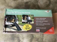 New listing New Solvit 62� UltraLite Bi-Fold Pet Ramp, Black, Folds to 32x16, 10 lbs.